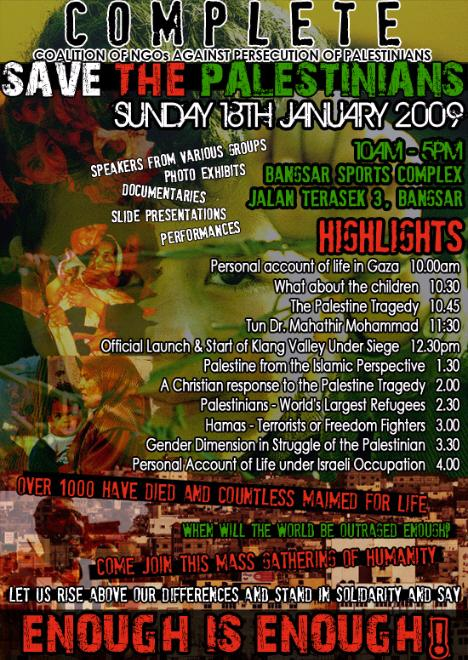 save-the-palestinians-event-bangsar-kuala-lumpur-18th-jan-2009