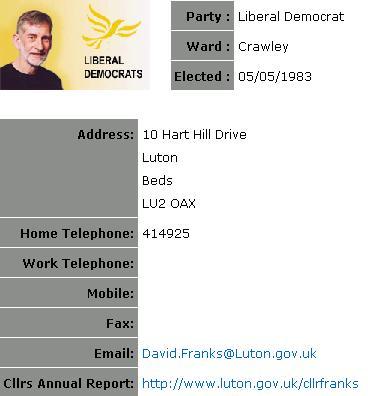 david-franks-luton-libdem-councillor