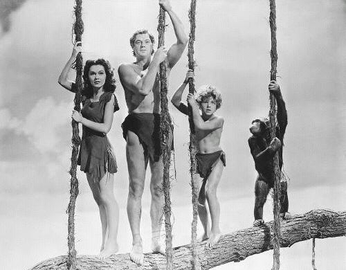The BEST Tarzan - Johnny Weissmuller pic2 c1942