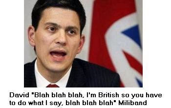 David blah blah Miliband