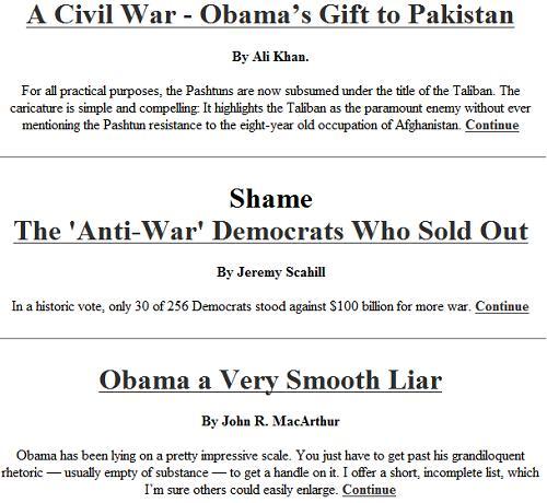 Obama - scum in a suit