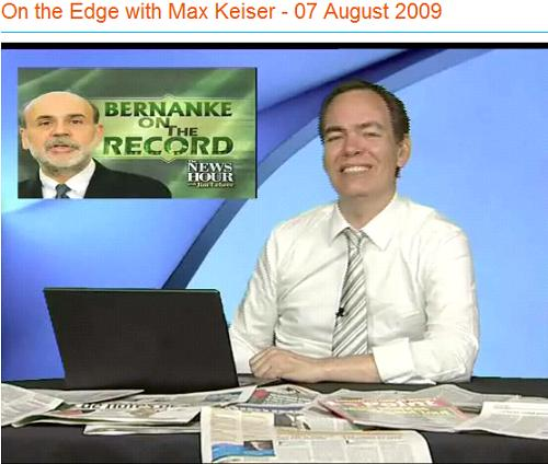 max keizer - on the edge - th Aug 09