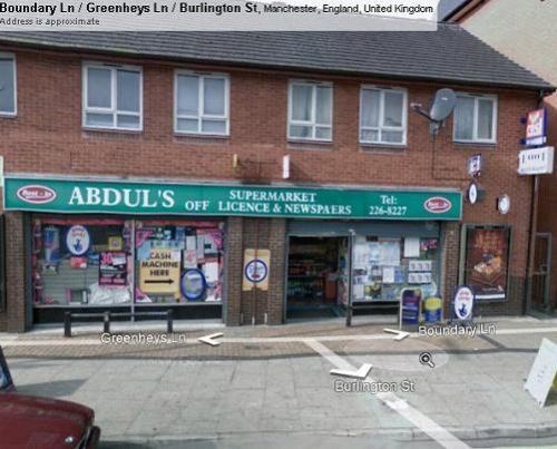 Abduls Off Licence and lottery ticket selling shop